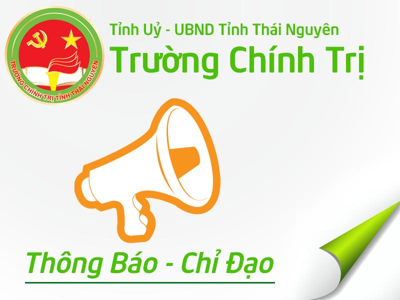 Công văn triệu tập học viên lớp Bồi dưỡng cán bộ Tuyên Giáo – Dân vận cơ sở năm 2015